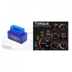 Interfata tester auto multimarca, ELM 327, prin Bluetooth, OBD2
