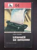 LITERATII SE AMUZAU - Voicu Bugariu