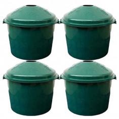4 x Cos Damigeana, 50/54 litri, din plastic