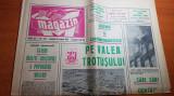 ziarul magazin 14 august 1971-combinatul savinesti si cabana si balea lac