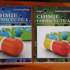 CHIMIE FARMACEUTICA PENTRU ASISTENTI DE FARMACIE VOL 1 SI 2 STECOZA, SUNT NOI !