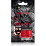 Bielenda Carbo Detox Active Carbon mască facială de acoperire cu cărbune activ pentru ten gras și mixt