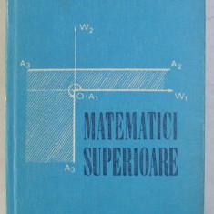 MATEMATICI SUPERIOARE de RODICA TRANDAFIR , 1976