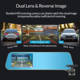 Oglinda retrovizoare auto cu camera dubla DVR Blackbox
