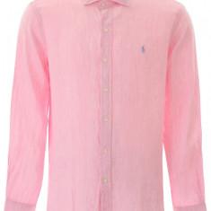 Camasa barbat Polo Ralph Lauren, Polo ralph lauren linen shirt 710795426 004LP Roz