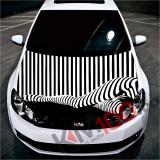 """Sticker Imprimat Color pentru Capota """"Hood Art"""" cod: KM-HOOD-107"""
