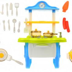 Bucatarie de jucarie pentru copii, sunete, lumini, accesorii - 818A