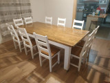 Mese si scaune lemn