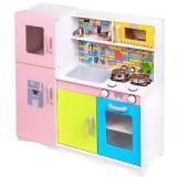 Cumpara ieftin Bucatarie copii colorata Ecotoys cu set accesorii