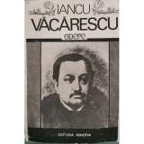 Opere - Iancu Vacarescu (Editie critica)
