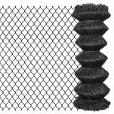Gard plasă de sârmă, gri, 15 x 1 m, oțel, vidaXL