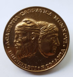 Medalia Traian si Decebal & Academia CARPATICA - MEDALIE SUPERBA