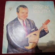 DISC VINIL  GRIGORE KIAZIM MUZICA POPULARA TURCEASCA