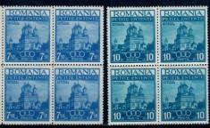 1937 - Mica Antanta, serie bloc de 4 neuzata foto