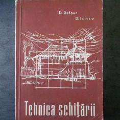 D. DEFOUR - TEHNICA SCHITARII