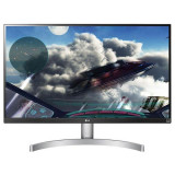 "Monitor LED IPS LG 27"", 4K UHD, Display Port, FreeSync, Negru"