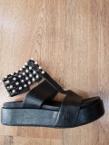 LICHIDARE STOC ! Superbe sandale dama noi piele naturala talpa ortopedica 37