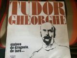 tudor gheorghe cantece de dragoste de tara disc vinyl lp muzica folk pop rock