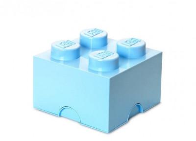 Cutie depozitare LEGO 2x2 - Albastru deschis foto