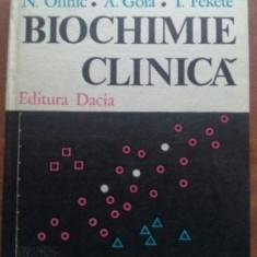Biochimie clinica vol 2 - Mircea Cucuianu, N. Olinic
