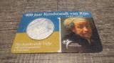 Moneda 5 Euro 2006 Olanda Argint 400 Ani De La Nasterea lui  Rembrandt