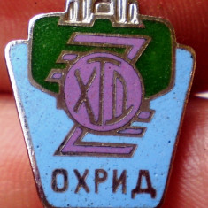 I.600 INSIGNA STICKPIN MACEDONIA OHRID h16mm