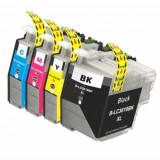 Set 4 Cartuse compatibile Brother LC3619XL LC3617XL, Multicolor, Original