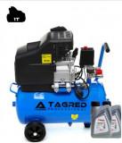 Compresor de Aer cu Ulei Tagred Mobil, 24L, 3.8 CP, 8 Bar, 206L/min + ulei cadou | arhiva Okazii.ro