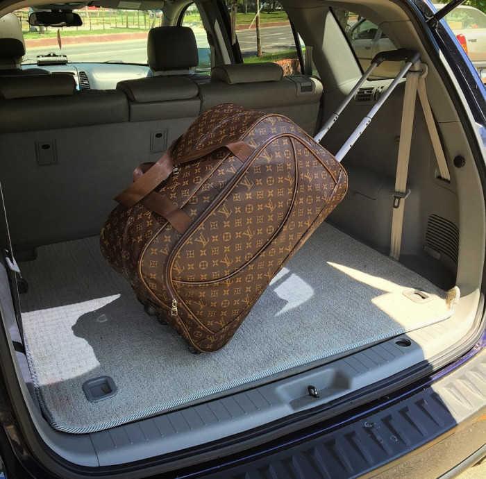 Geanta de voiaj/troller Louis Vuitton Monogram Neo Ethel Boston troler LUXURY
