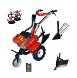 Motocultor Rotakt ROG80, 7 CP, carcasa transmisie fonta + Rarita + Plug scos cartofi + Cadou ulei