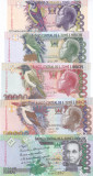 Bancnota Sao Tome si Principe 5.000 - 100.000 Dobras 2013 - P65-69 UNC (set x5)