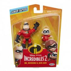 Pincredibles 2 3 precool 2-pack figures - mr. incredible &amp jack-jack/p foto