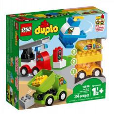 Set de constructie LEGO DUPLO Primele mele Masini Creative