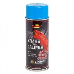 Spray vopsea Profesional pentru ETRIERI Rezistent Termic ALBASTRU +150°C 400ml ManiaCars