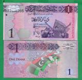 = LIBYA - 1 DINAR – 2013 - UNC  =