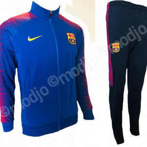 Trening FC BARCELONA noul model  2018-2019 PANTALONI CONICI SUPER CALITATE