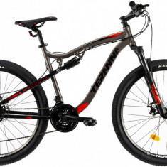 Bicicleta Mtb Dhs Terrana 2745 L 490Mm Gri 27.5 Inch