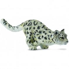 Figurina Leopard de zapada Pui Collecta, 10 x 3 cm, 3 ani+