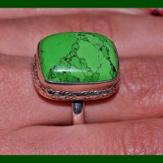 unic! inel argint 925  cu JASP  natural!cut caboson