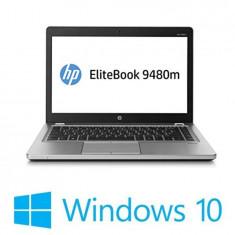Laptop refurbished HP EliteBook Folio 9480m, Core i5 4310u, 500GB HDD, Win 10 Home