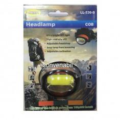 Lanterna Frontala LED 3W cu COB LED Liliang LL536B ZYJ536B