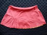 Fusta tenis / casual Nike Dri-Fit, cu pantaloni scurti integrati; XL; ca noua