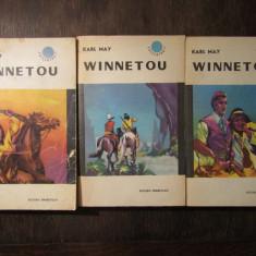 WINNETOU-KARL MAY  , 3 VOLUME