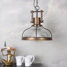 Lampa industriala de tavan cu un bec Edison GMF006