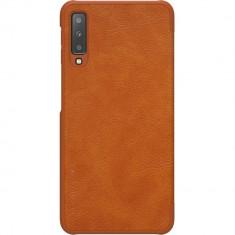 Husa Agenda Qin Piele Maro SAMSUNG Galaxy A7 ( 2018), Nillkin