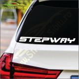 Dacia Sandero Stepway- Stickere Auto -Cod: MOV-116 -Dim :    20 cm. x 1.8 cm.