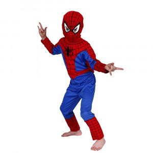 Costum Spiderman pentru copii marime L pentru 7 9 ani