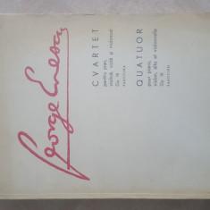 George Enescu Partitura cvartet op. 16  quatuor, 196