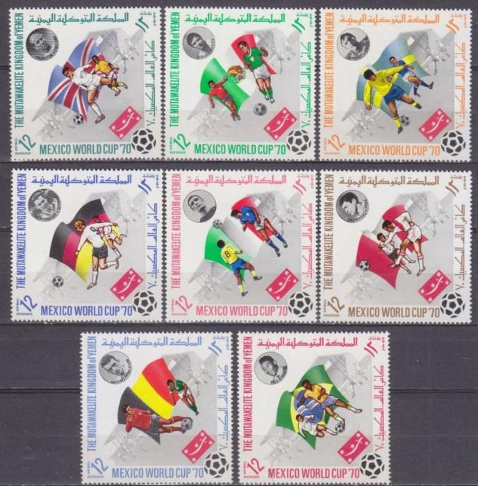 YEMEN 1970 -  Fotbal WCup 1970