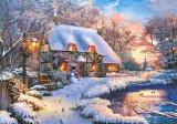 Puzzle Castorland 500 Dominic Davison: WINTER COTTAGE